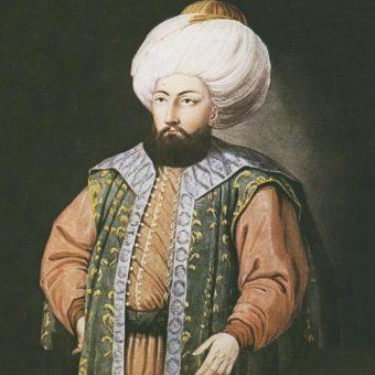 Portret Mehmeda I.