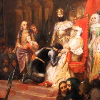 Piotr kazał ekshumować ciało Inez, następnie koronował je i zmusił arystokratów do oddania mu hołdu.