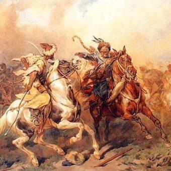 Pod Ochmatowem wojska dowodzone przez Koniecpolskiego odniosły wielkie zwycięstwo nad Tatarami.