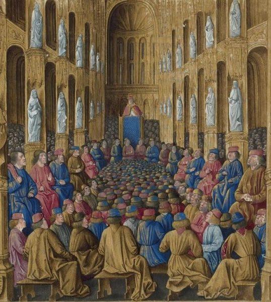 Urban II na synodzie w Clermont wezwał do zorganizowania wyprawy zbrojnej do Ziemi Świętej.
