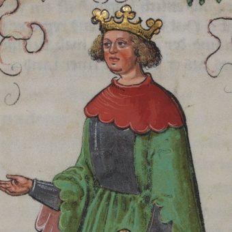 Wizerunek Konrada IV.