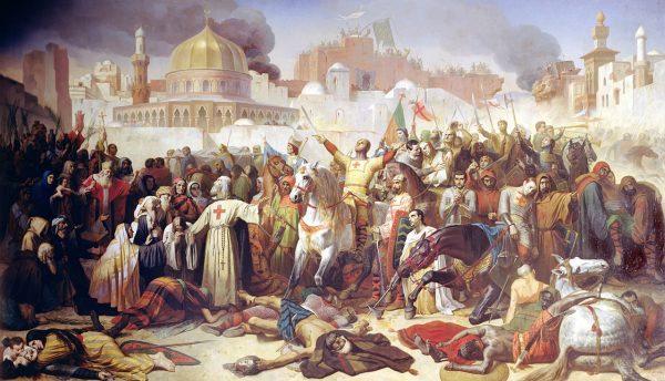 Po I krucjacie krzyżowcy musieli zapanować nad przedstawicielami różnych nacji i wyznań.