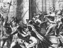 W wyniku zamachu niemal stracił życie król Zygmunt III Waza.