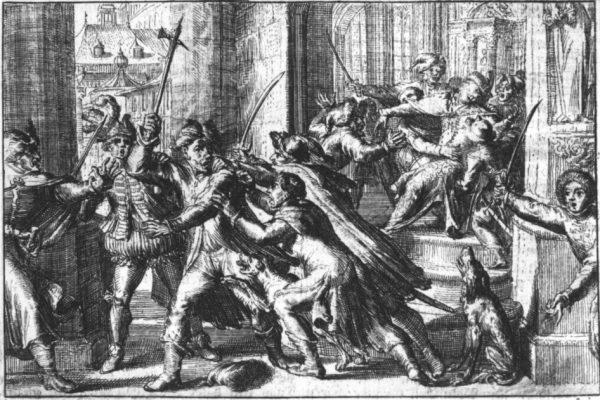 Za próbę zamachu na Zygmunta III Wazę Piekarskiego spotkała sroga kara.