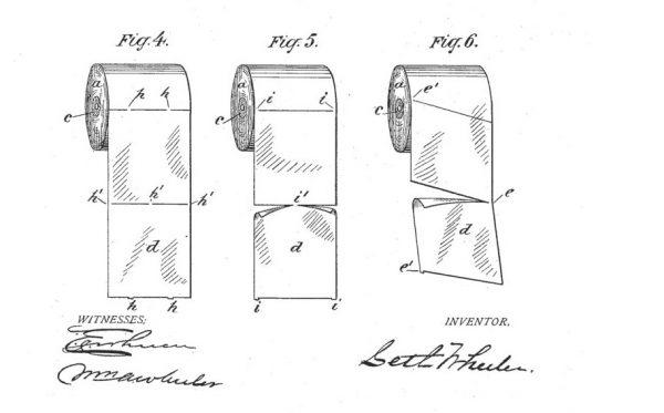 Wheeler bardzo dokładnie opisał, jakie korzyści przynosi podział rolki papieru na listki.