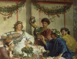 Czy Rzymianie pili dużo importowanych win?