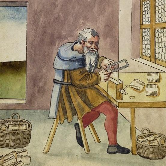 Wytwórstwem na rynku zajmowali się między innymi grzebieniarze.