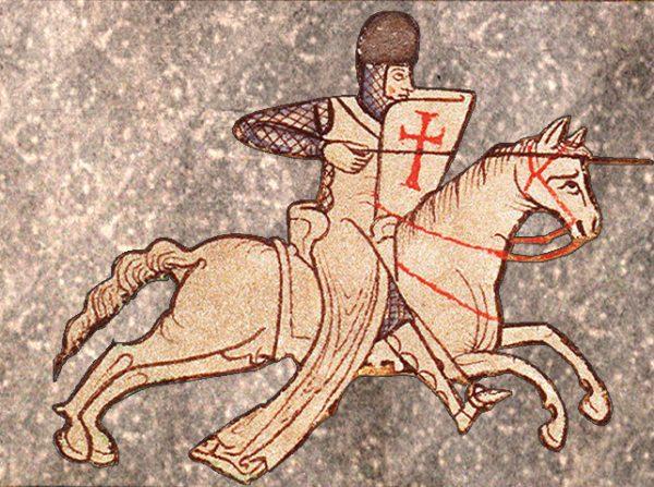Templariusze uosabiali przyjętą przez Innocentego wizję wojowniczego Kościoła.