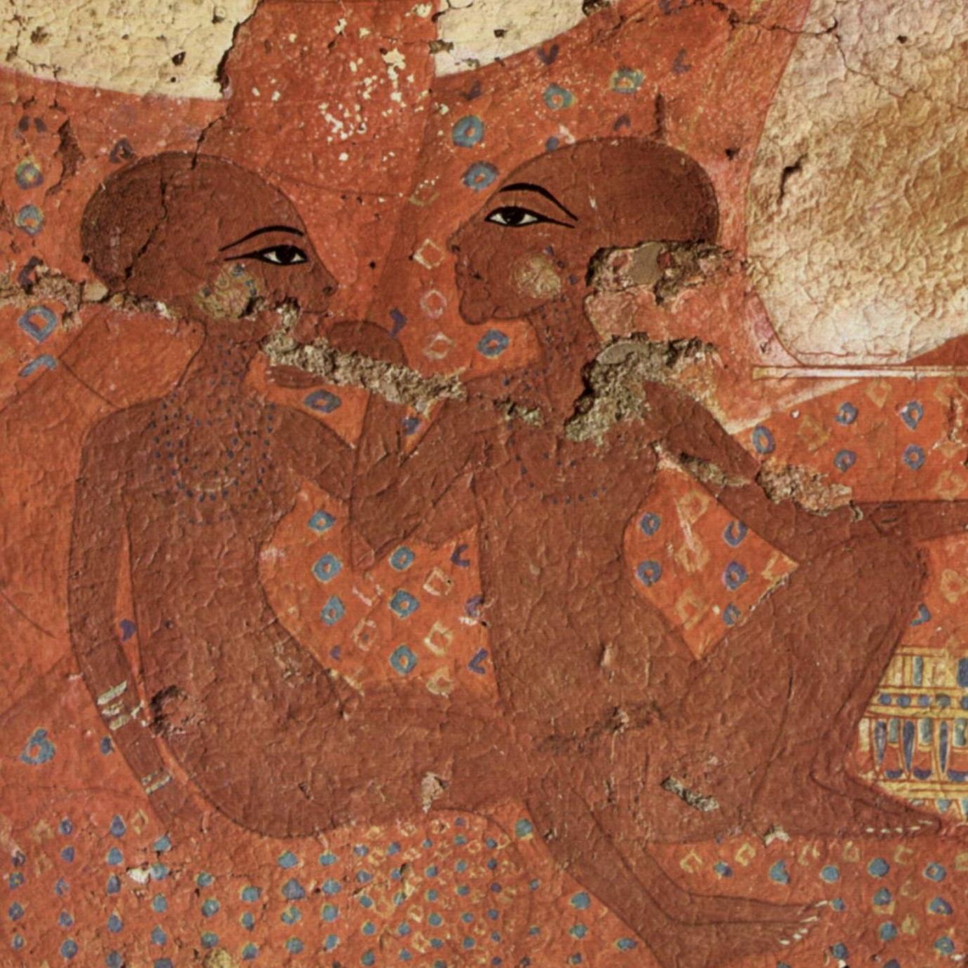 Zdaniem kanadyjskiej badaczki pieszczotliwy gest na steli ma świadczyć o tym, że Egiptem w pewnym momencie rządziły jako faraonowie dwie kobiety.