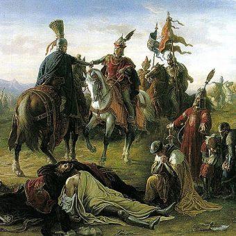 Spotkanie Władysława IV z Rudolfem.