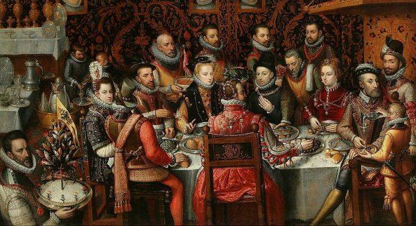 Zanim jedzenie trafiło na królewski talerz, sprawdzało je kilku testerów. Z tego powodu władca często dostawał zimne potrawy.
