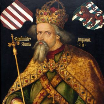 Najbardziej znany portret Zygmunta Luksemburskiego.