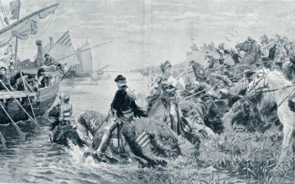 Bitwa pod Nikopolis.