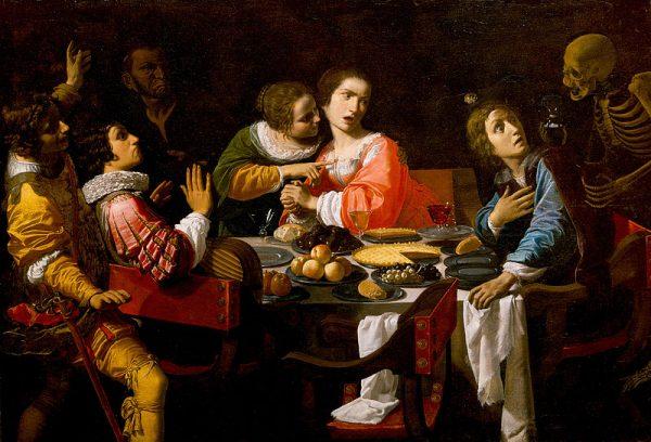 """Królewskie uczty często były mdłe, gdyż w niedoprawionych daniach łatwiej było wykryć truciznę. Truciciele chętnie """"doprawiali"""" za to wino."""