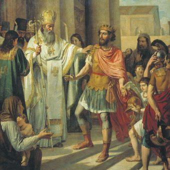 Chrzest Włodzimierza Wielkiego.