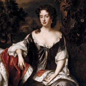 Portret Anny Stuart.