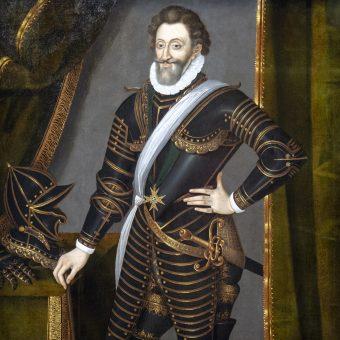 Portret Henryka IV Wielkiego.