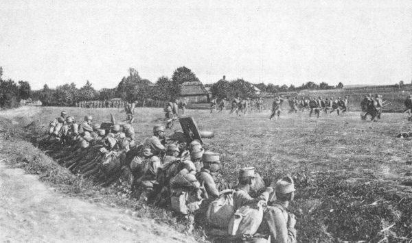 Austriaccy wojskowi nie mieli żadnej litości dla faktycznych i domniemanych zdrajców. Zdjęcie poglądowe.