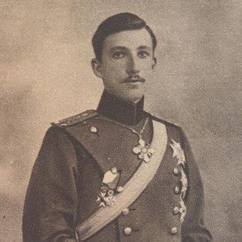 Borys Koburg w 1915 roku.