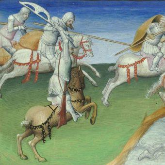 Bitwa nad rzeką Terek, wygrana przez Nogaja (fot. domena publiczna)