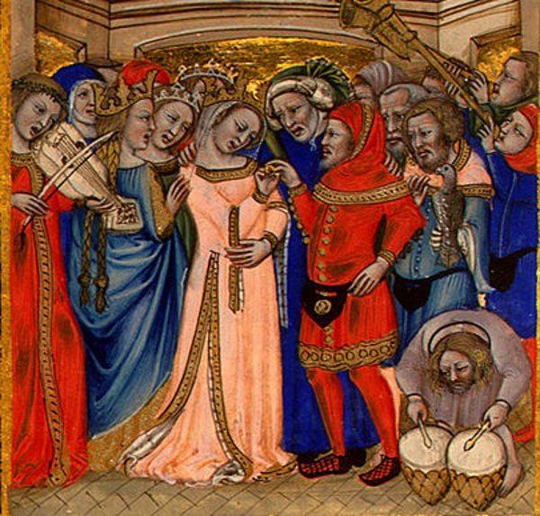Wesela organizowane były z ogromnym przepychem, takim, na jaki tylko gospodarze mogli sobie pozwolić.