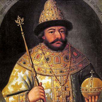 Portret Borysa Godunowa.