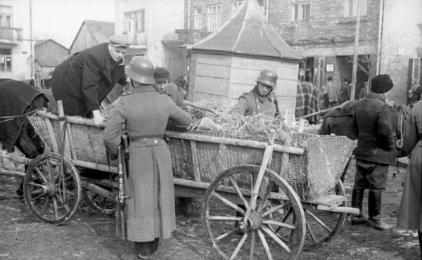Ludność okupowanej Polski najczęściej miała kontakt właśnie z niemiecką Policją Porządkową.