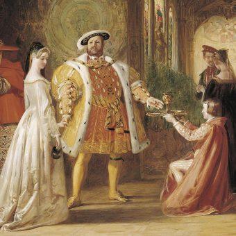 """Henryk VIII na każdym kroku spodziewał się próby otrucia. Aby zabezpieczyć się przed zabójstwem, wdrożył szereg procedur """"profilaktycznych""""."""