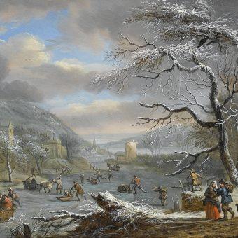 Zima na przełomie 1783 i 1784 roku była wyjątkowo mroźna. Za obniżenie temperatur odpowiadała trwająca od czerwca erupcja wulkanu Laki (il. poglądowa).
