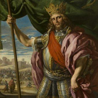 Portret Teodoryka Wielkiego.