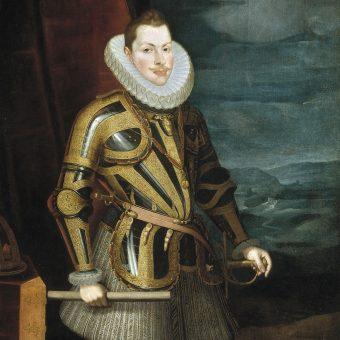 Portret Filipa III Habsburga.