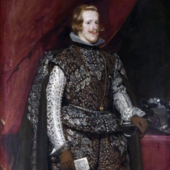 Portret Filipa IV Habsburga.