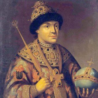 Portret Fiodora III Romanowa.