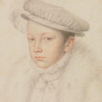 Portret Franciszka II Walezjusza.
