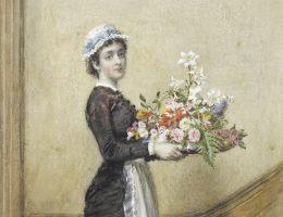 Na przełomie XIX i XX wieku wiele dziewcząt trafiało do miast, gdzie znajdowały zatrudnienie głównie jako służące.