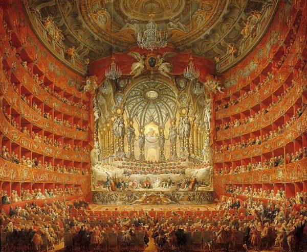 Publiczne opróżnianie się było swego rodzaju normą. Zdarzało się to nawet w operze czy teatrze - w trakcie przedstawienia!