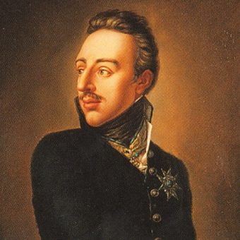 Portret Gustawa IV Adolfa.
