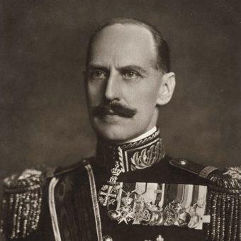 Król Norwegii Haakon VII.