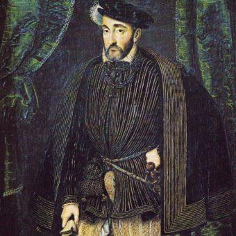Portret Henryka II Walezjusza.
