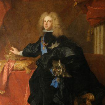 Portret Filipa V Hiszpańskiego.