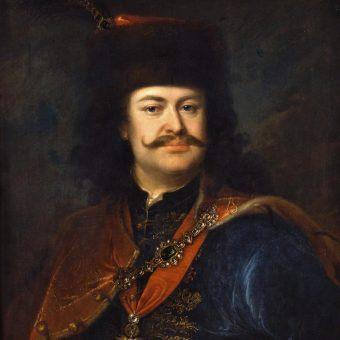 Portret Franciszka Rakoczego.