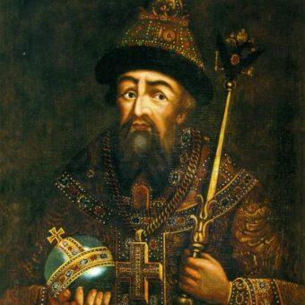Portret Iwana Groźnego.