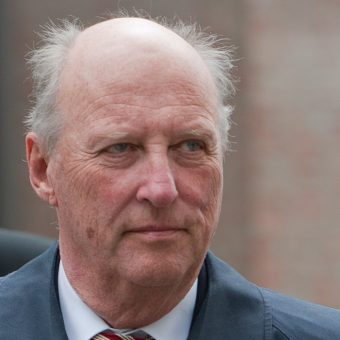 Król Norwegii Harald V.