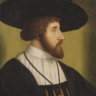 Portret Chrystiana II Okrutnego.