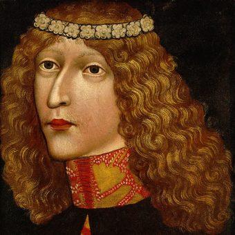 Portret Władysława Pogrobowca.