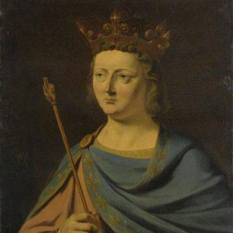 Ludwik X Kłótnik (fot. domena publiczna)
