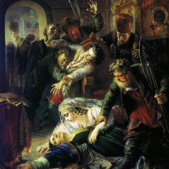 Śmierć Fiodora Godunowa.