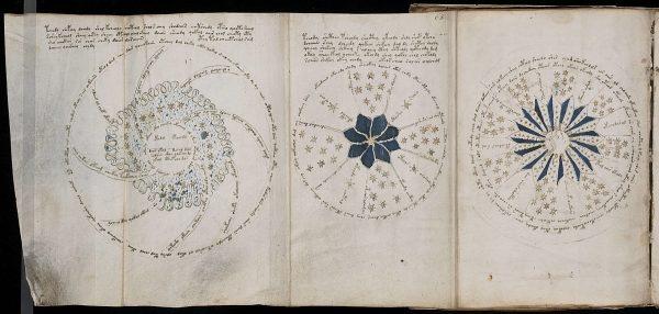 Manuskrypt Wojnicza (fot.domena publiczna)