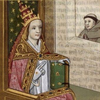 Papieżyca Joanna była podobno następczynią Leona IV. A może Wiktora III?