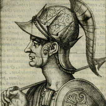 Wizerunek cesarza Zenona.